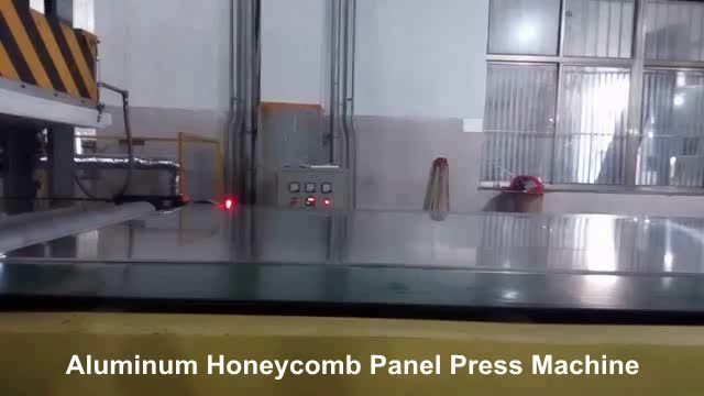2018 aluminum honeycomb panel press machine /making equipment