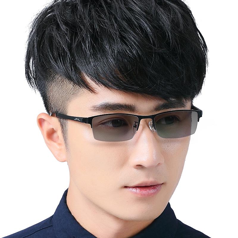 变色男款士防紫外线防蓝光太阳镜好不好用