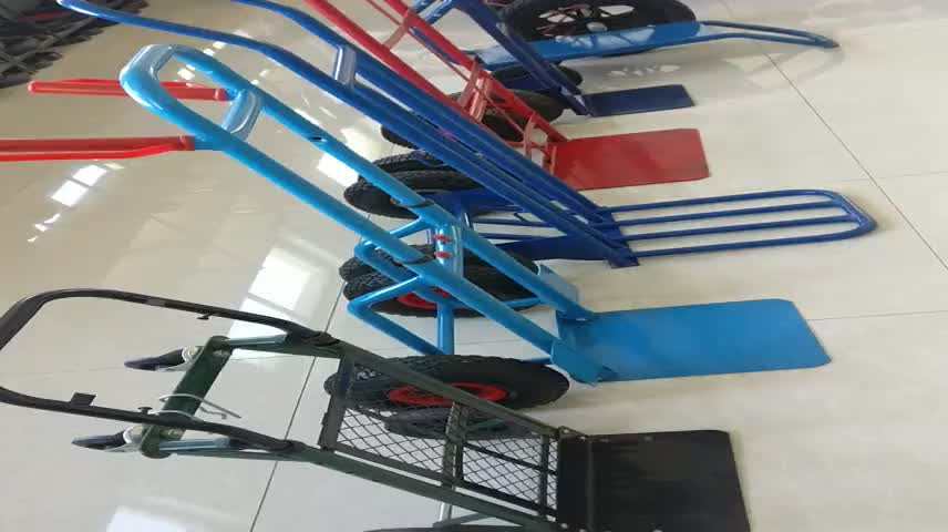 Toe plate type hand trolley truck tools HT3800