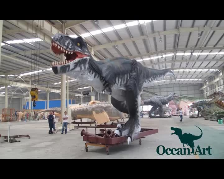 OA22802 Robotic Life Size Mechanical Animatronic Dinosaur For Sale
