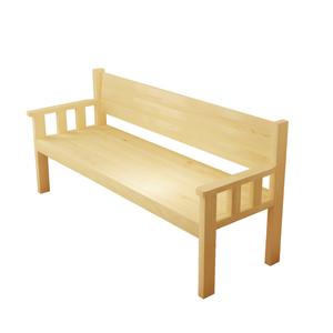 长椅子沙发椅简约靠背三人椅书桌椅