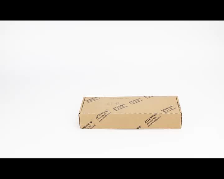 Özel karton 12 inç yeniden kullanılabilir dondurulmuş pizza kutusu