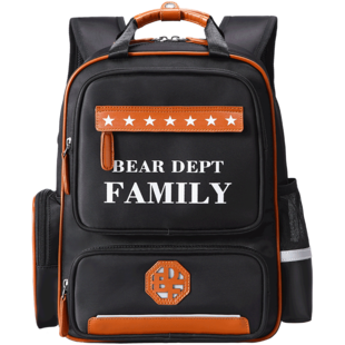 熊之族小学生幼儿园男女护脊书包