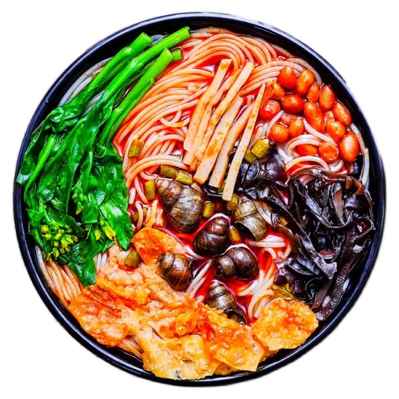 肖叔叔螺蛳粉柳州正宗螺狮粉广西特产螺丝粉330g*3袋方便速食米线