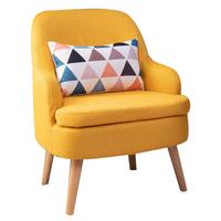 达里奥北欧单人沙发简约现代懒人可拆洗阳台卧室迷你休闲小沙发椅