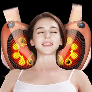 肩颈椎按摩器颈部多功能电动仪枕头