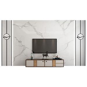 奥普兰电视背景墙瓷砖客厅微晶石