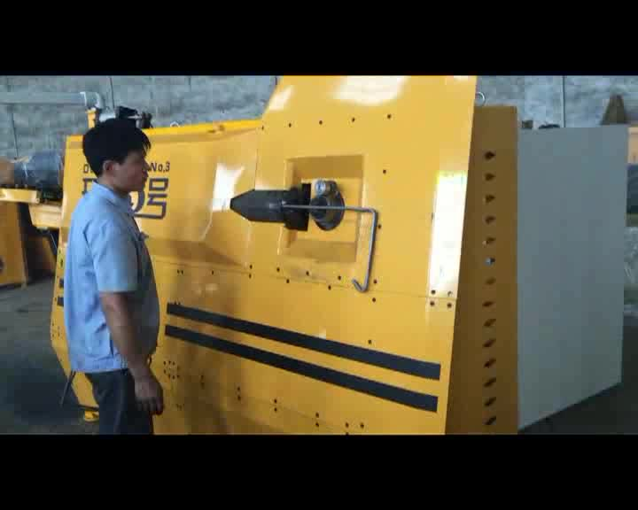 Bidirection bending steel wire automatic stirrup bending machine
