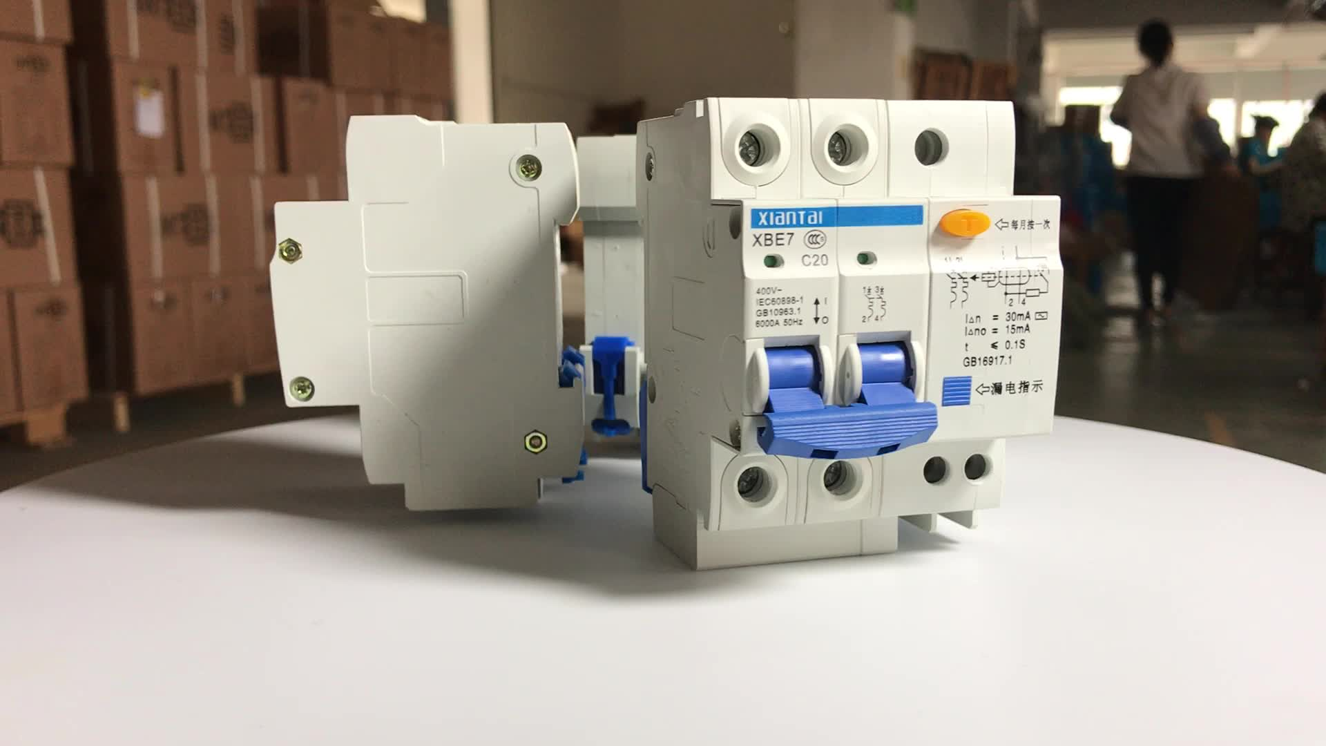 2pole 30ma 03a 60hz Copper Quality Low Price Earth Leakage Circuit Breaker Elcb Electronic Projects 10ma Rccb
