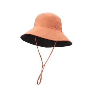 蕉下女夏双面百搭渔夫帽遮脸防晒帽