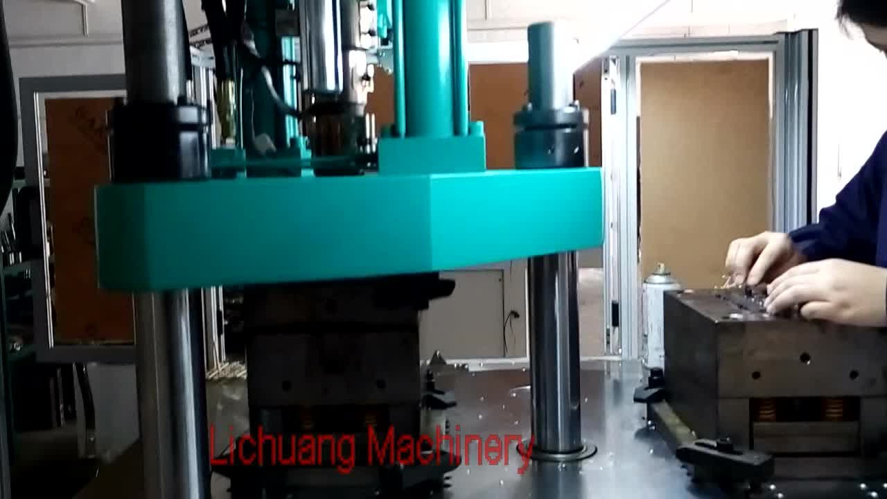 35 Ton Pvc Small Round Table Vertical Plastic Injection Molding Machine