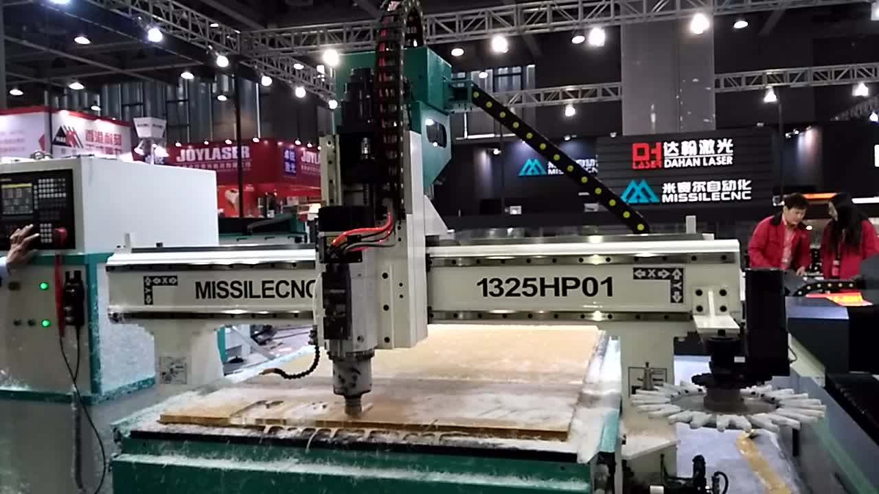 3D ATC Cnc Router for Furniture with Discount Price Hot Sale High-End CNC Router