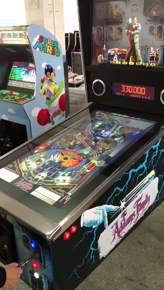 1080 games virtual pinball game machine met Pinball FX3 en besparen hoge score functie
