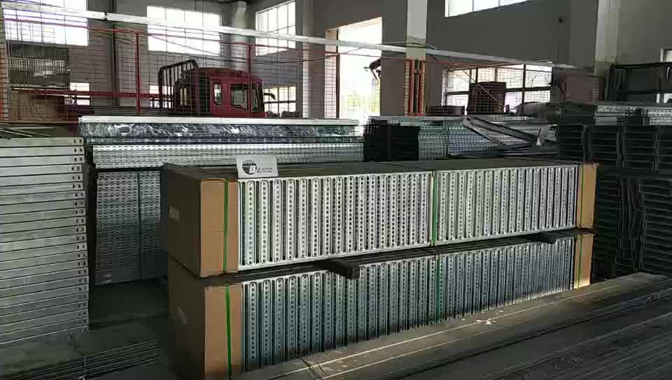Bandeja de cabo elétrico pre Galvansing AU tipo BC3 Laddertray