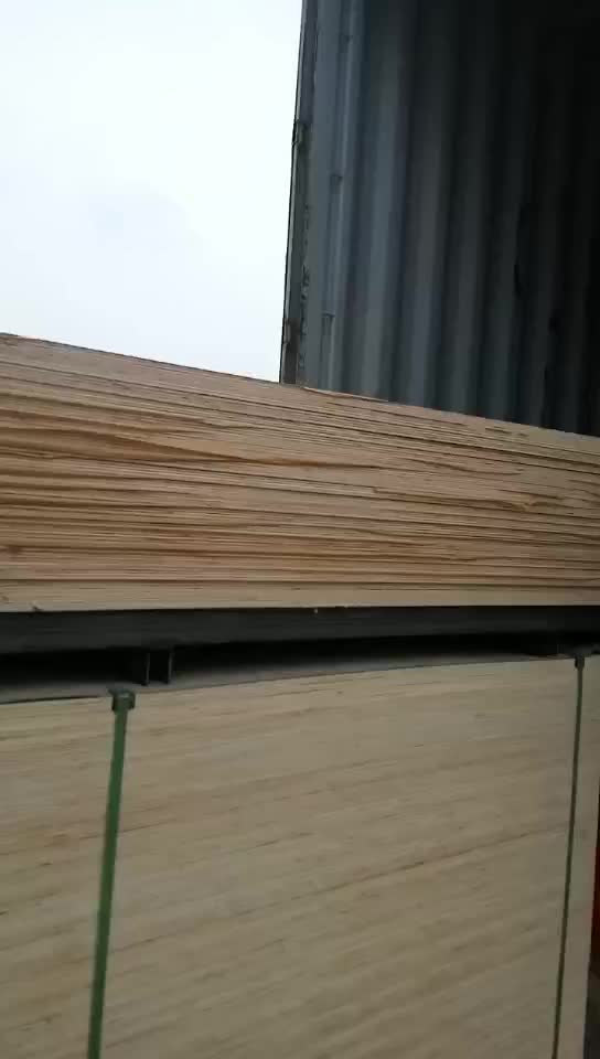 Paper Faced Plywood ~ Laminated melamine paper faced plywood for kitchen cabinet