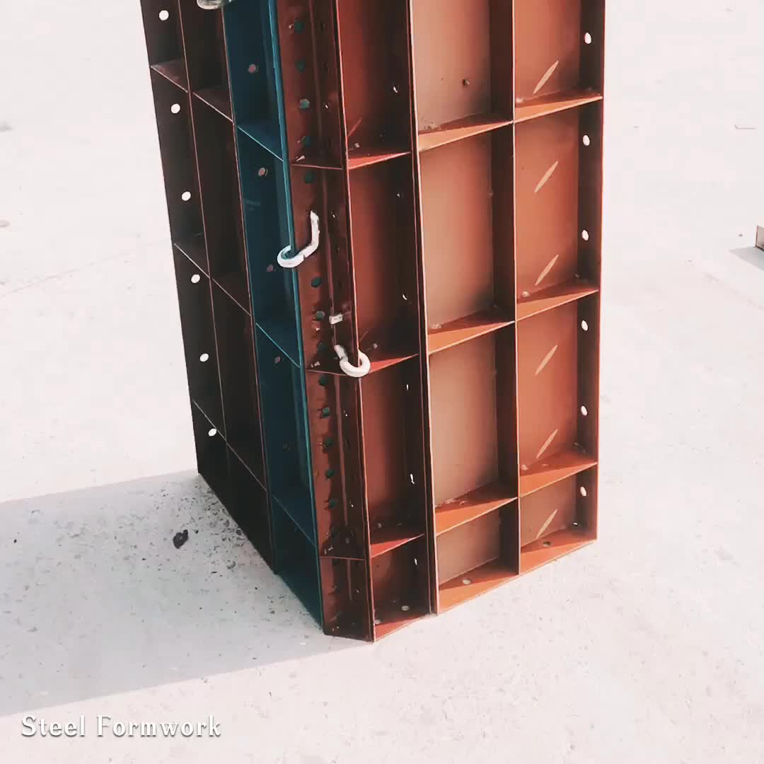 Construction Roof Metal Formwork Column Shuttering Plates