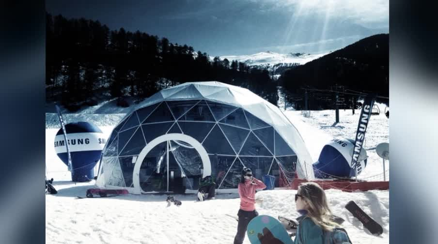 Top sale dome tent 2018 aluminium geodesic domes for sale