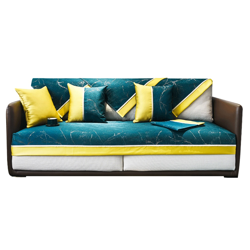 轻奢沙发垫套罩北欧风格四季靠背巾好不好