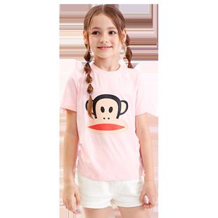大嘴猴兒童短袖t恤夏裝男童女童中大童寶寶