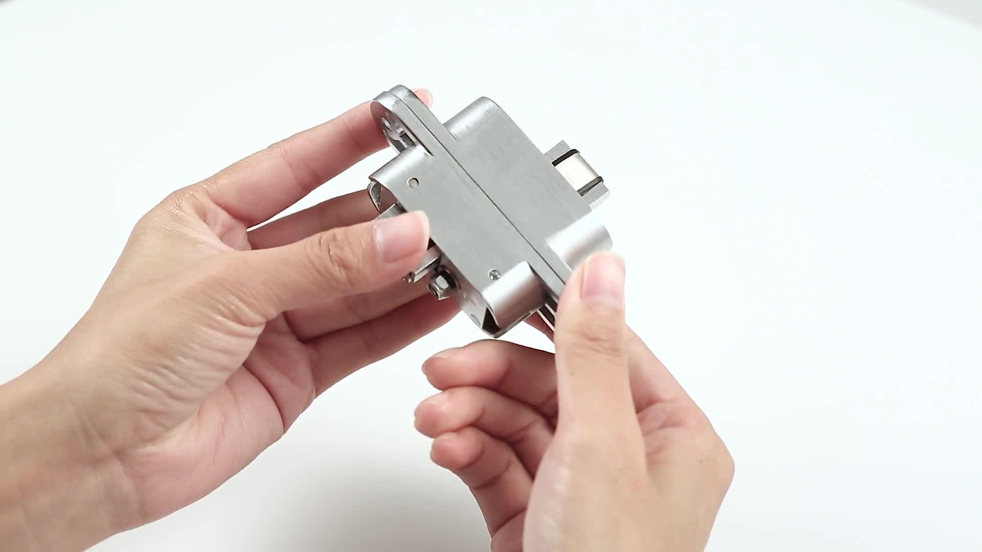 30 110mm Stainless Steel Concealed Hinge 3d Adjustable Hinge For
