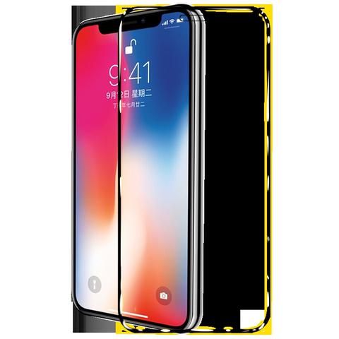 苹果7plus钢化膜iphone7全屏覆盖蓝光iphone8plus手机膜全包边苹果8贴膜后i8p刚化玻璃7p防指纹七八屏保护ip7