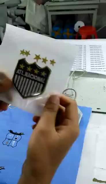 Fabrik Direkt China Handgemachte Stickerei Patches Mit Pailletten Custom Stickerei Patches