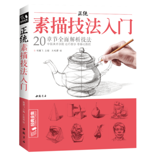 经典全集正统素描技法入门自学画册