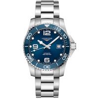 Longines浪琴 官方正品康卡斯潜水系列男士机械表瑞士手表男腕表