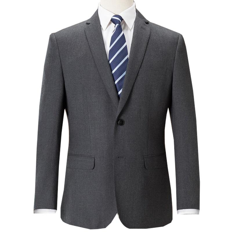 罗蒙男士西服套装羊毛修身西装青年休闲正装商务男装