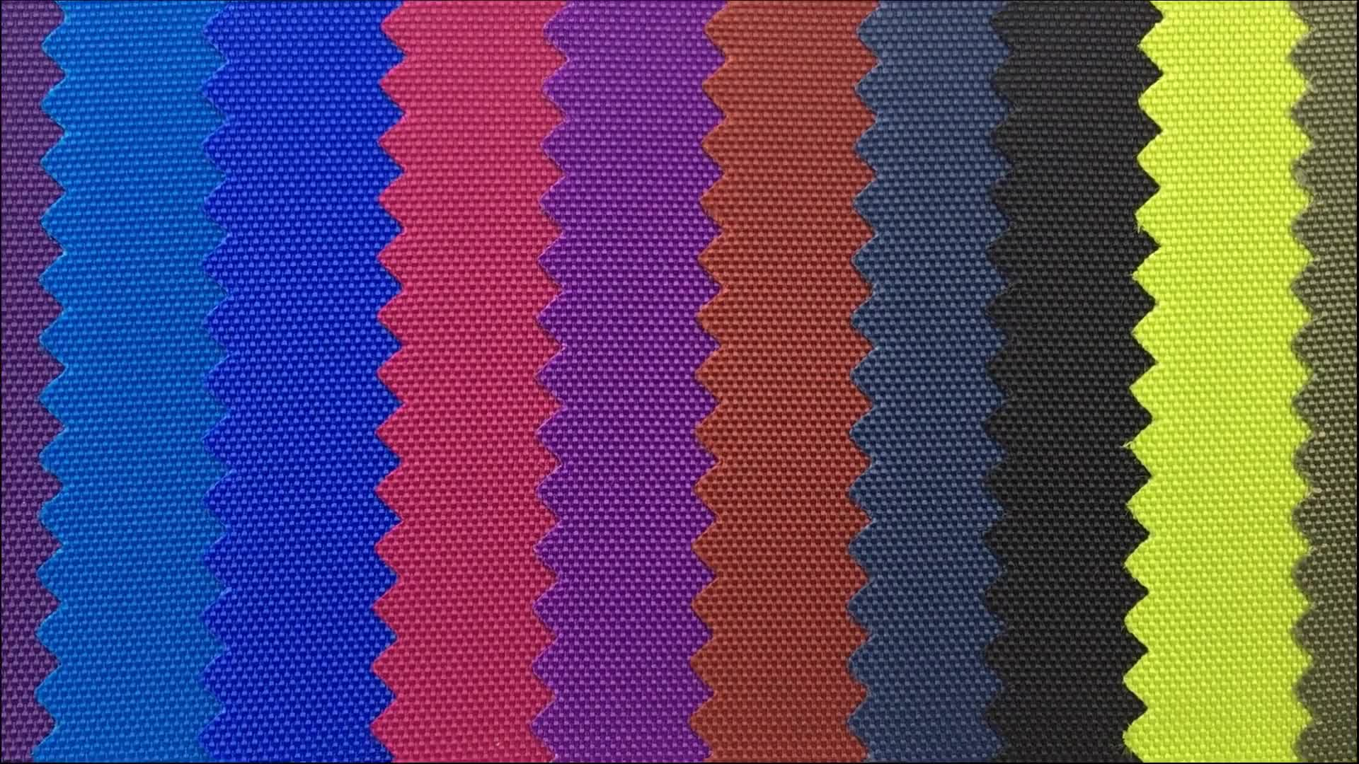 High density 420d 100T nylon oxford fabric with pu coated for handbag