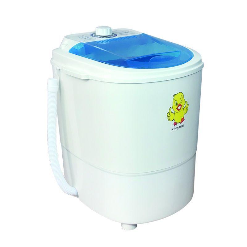 迷你洗衣机小型桶家用电动半全自动婴儿洗脱一体带甩干洗袜子神器