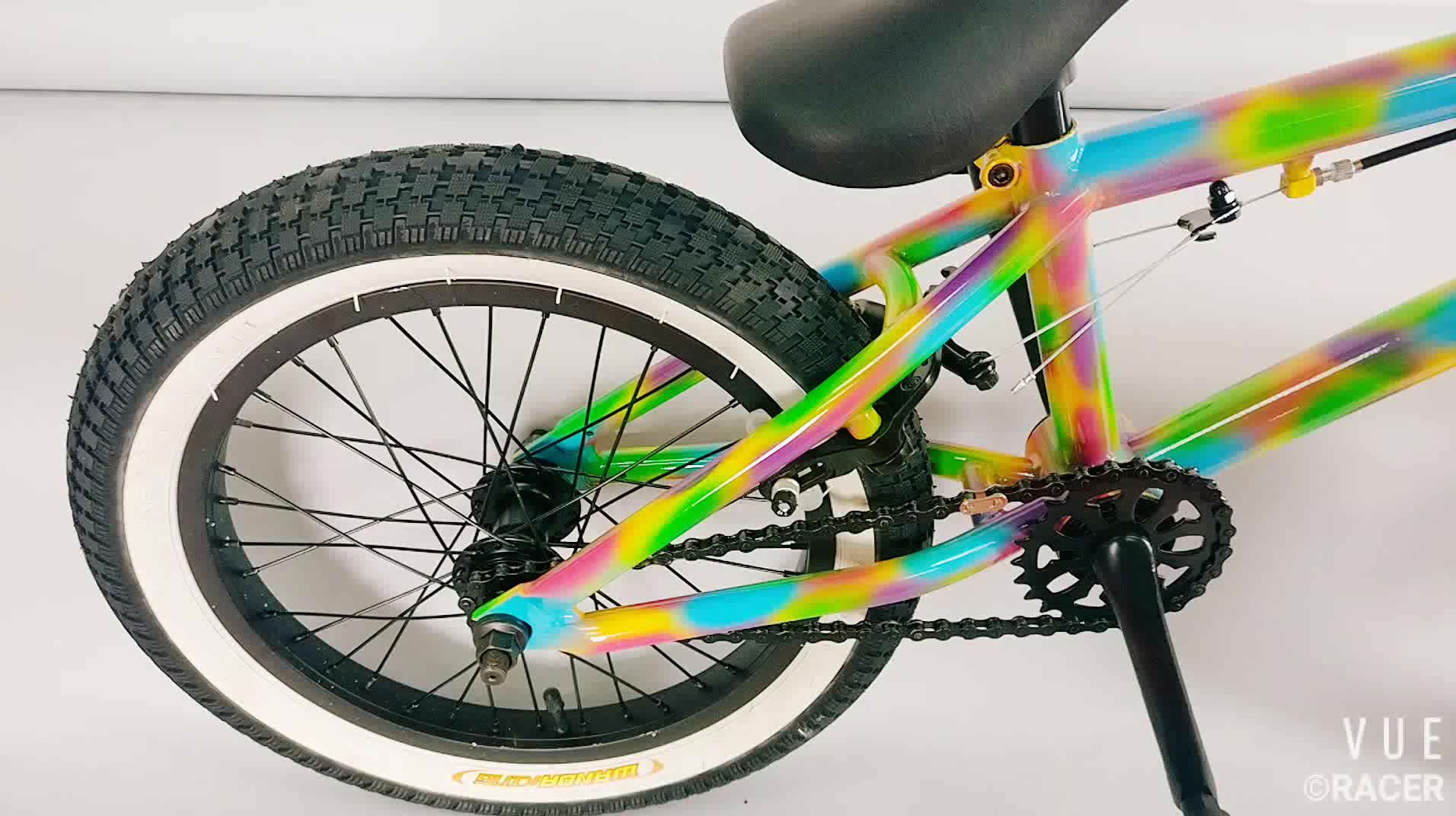 16 inch customized professional high quality hi-ten steel flatland bmx bicycle mini freestyle BMX race bike for cheap sale