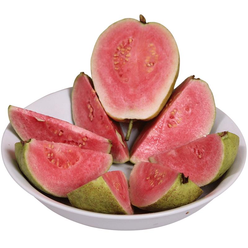 广西红心芭乐番石榴新鲜水果特产5斤包邮当季巴乐潘石榴10芭乐果