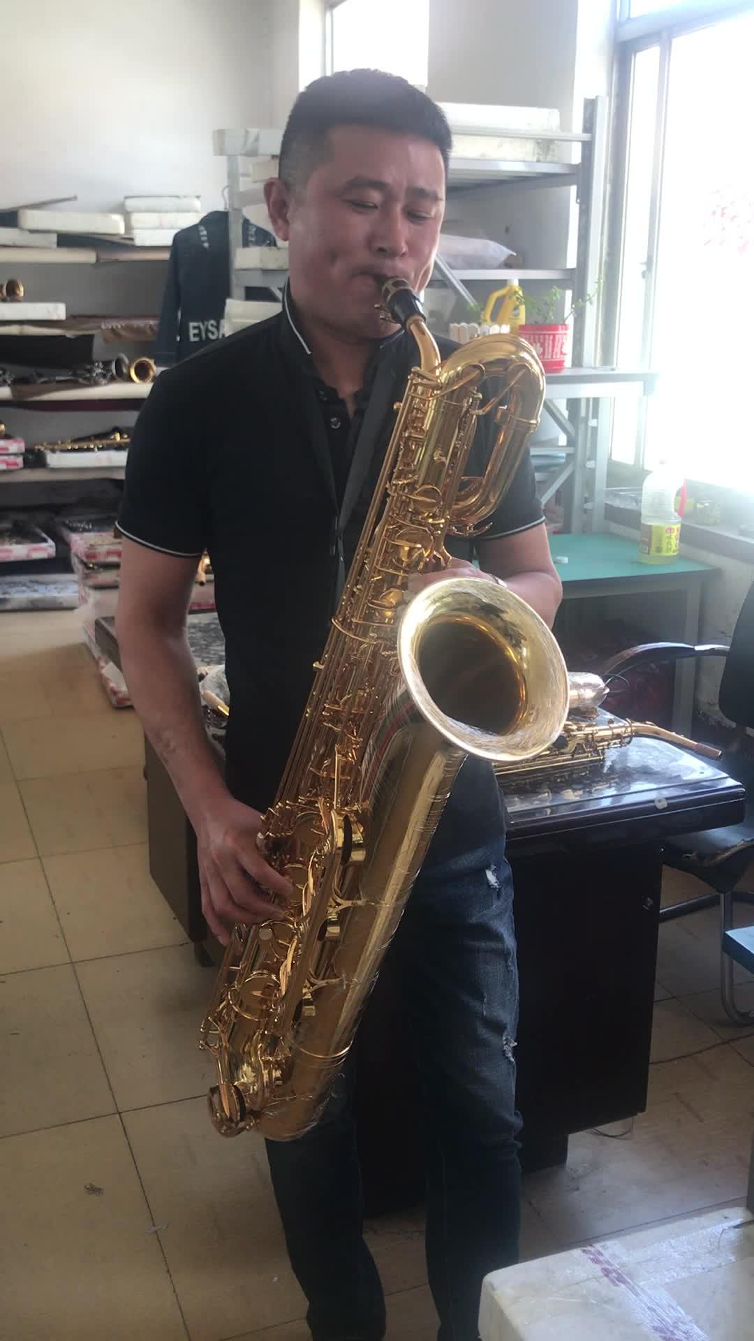 vintage antique baritone saxophone