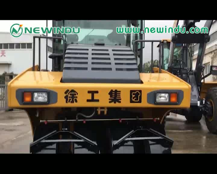 new pneumatic tyre roller 20ton tyre road roller capacity