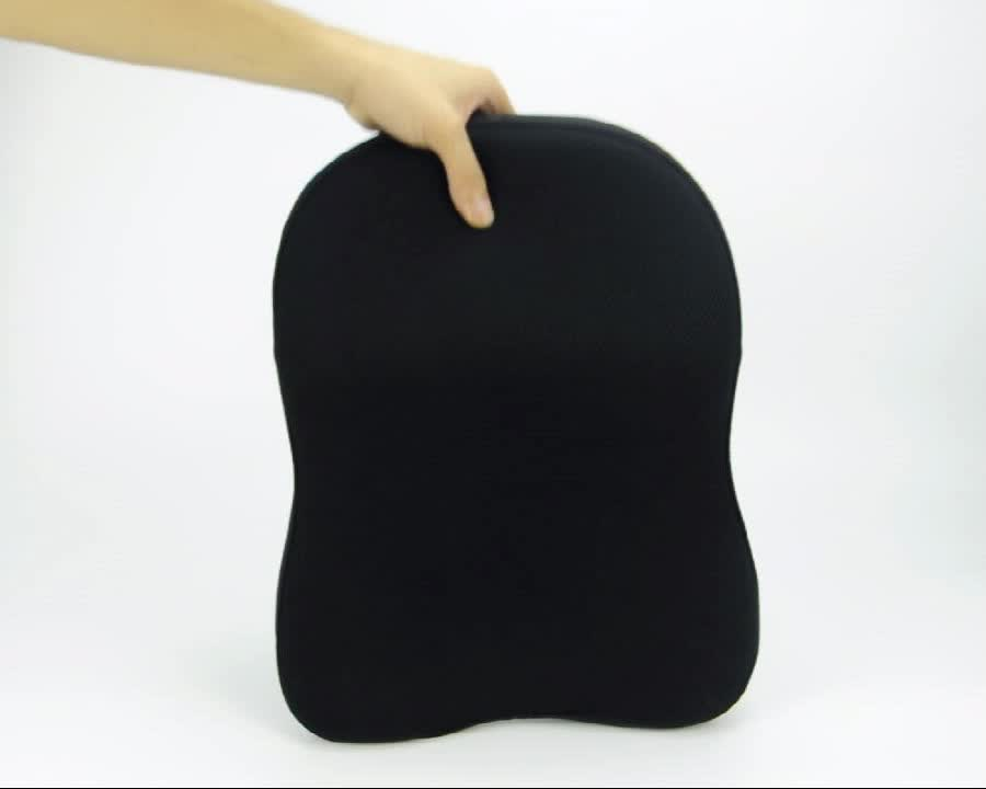 BYC Breathable Cotton Cover Car Seat Memory Foam Car Head Rest
