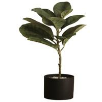 诚艺北欧现代陶土盆假盆栽摆件家居客厅室内摆设仿真植物装饰绿植