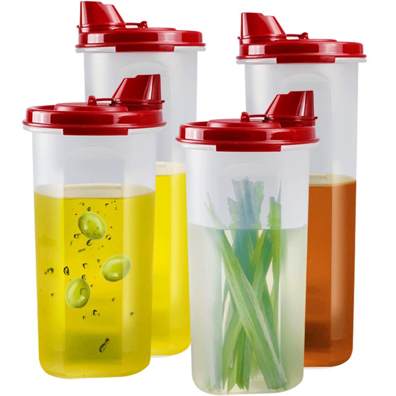 特百惠油壶装酱油醋油瓶塑料防漏