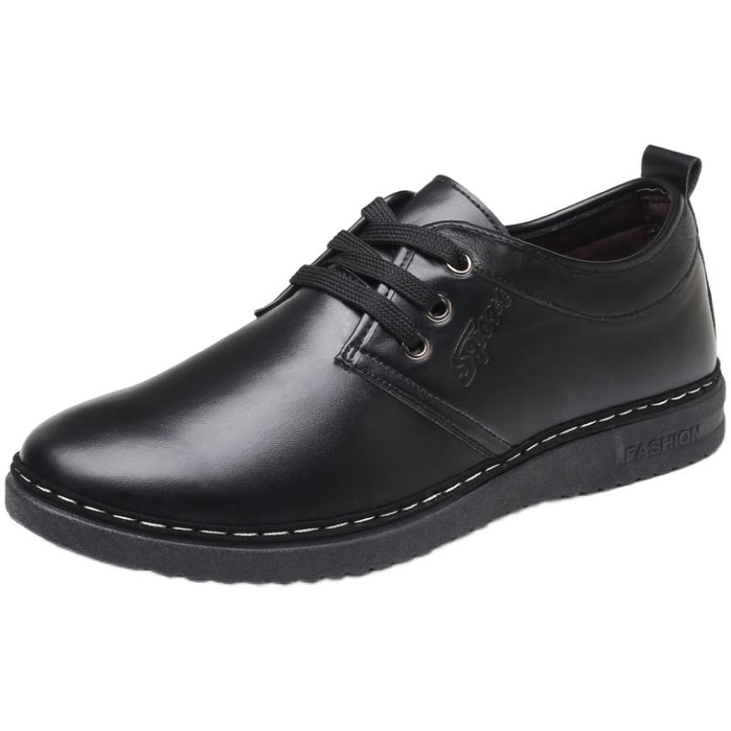 春季新款正装男士商务休闲英伦鞋子用后评测