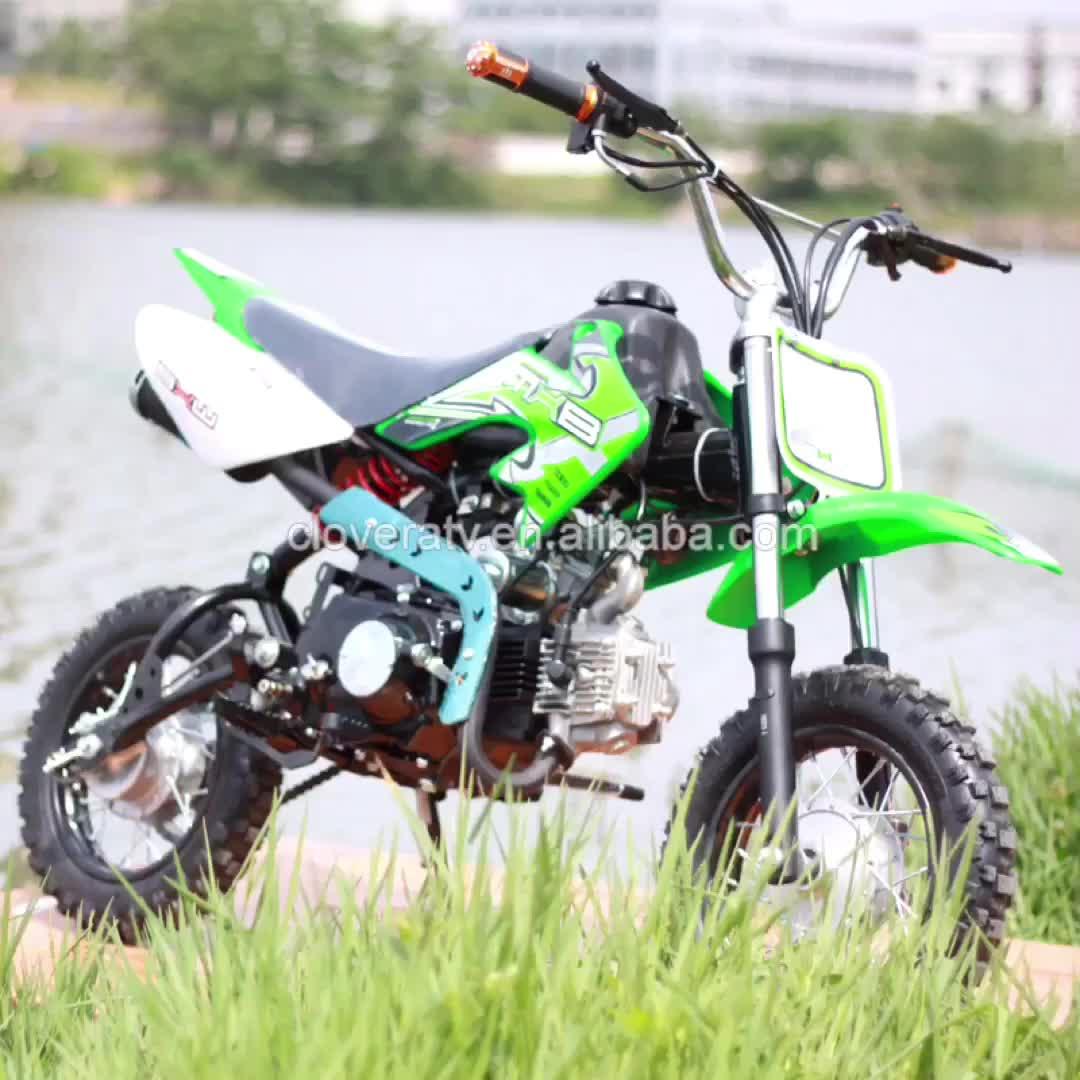 Movidos a gasolina Kick Start Automático Transversal Do Motor Da Bicicleta Da Sujeira 125CC Pit Bike para Venda