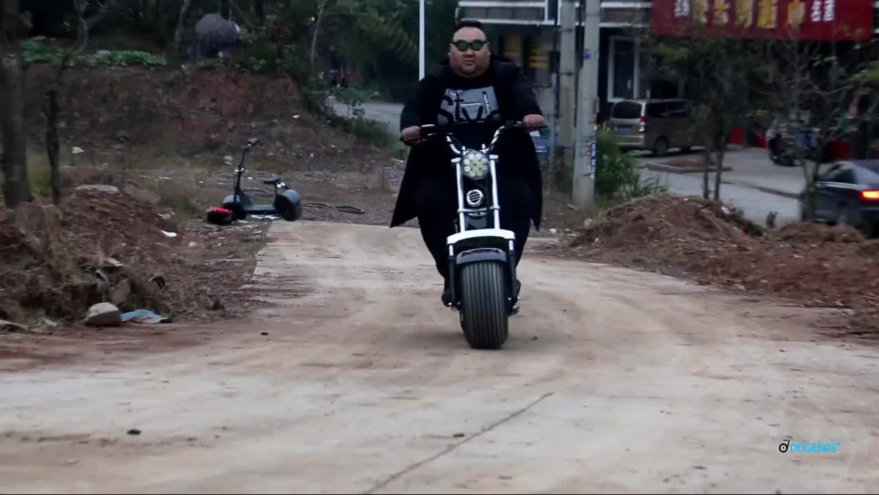 Cheap Dogebos SC10 big tire electric scooter 2019 from Yongkang factory
