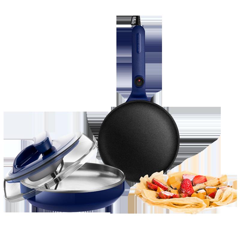 摩飞轻食薄饼一体机千层春卷皮多功能电饼铛小型家用早餐机薄饼机