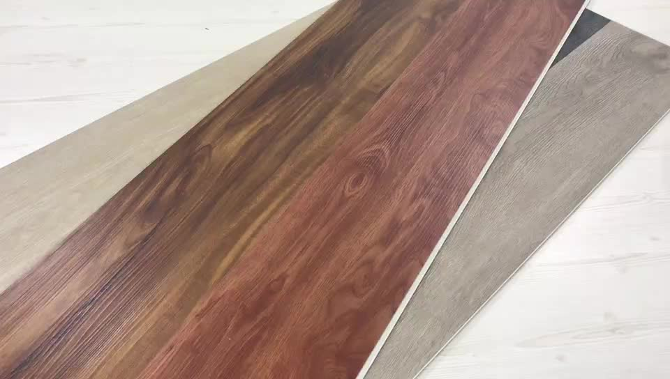 anti-slip uniclick 5mm WPC vinyl floorings 0.5mm wear layer