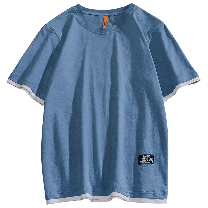 短袖男士夏季纯棉体恤宽松五分t恤好用吗?