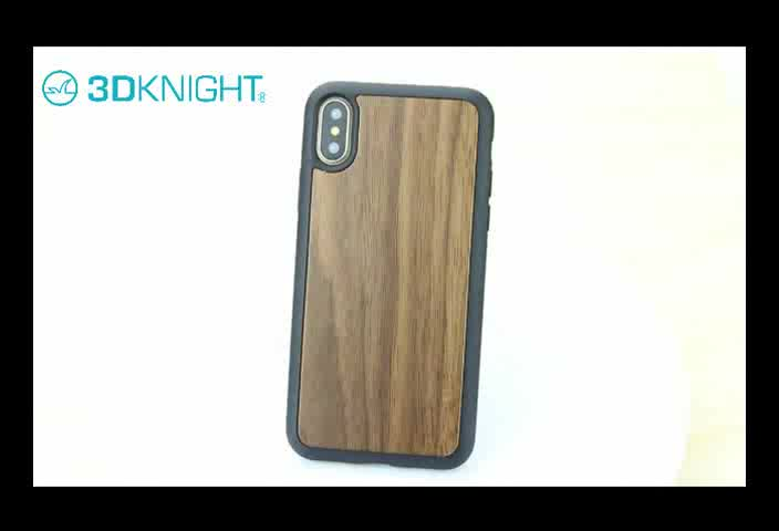 Luxury Mobile Phone Back Cover Wood Case For iphone 7 8 plus X
