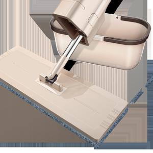 免手洗平板木地板家用懒人净地拖布