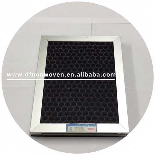 VOC Removal carbon filter for air purifier air cleaner