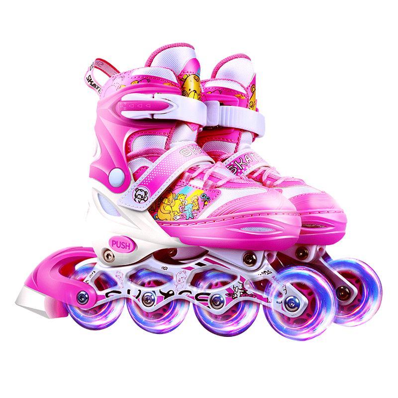儿童全套装男童夏季旱冰可调轮滑鞋
