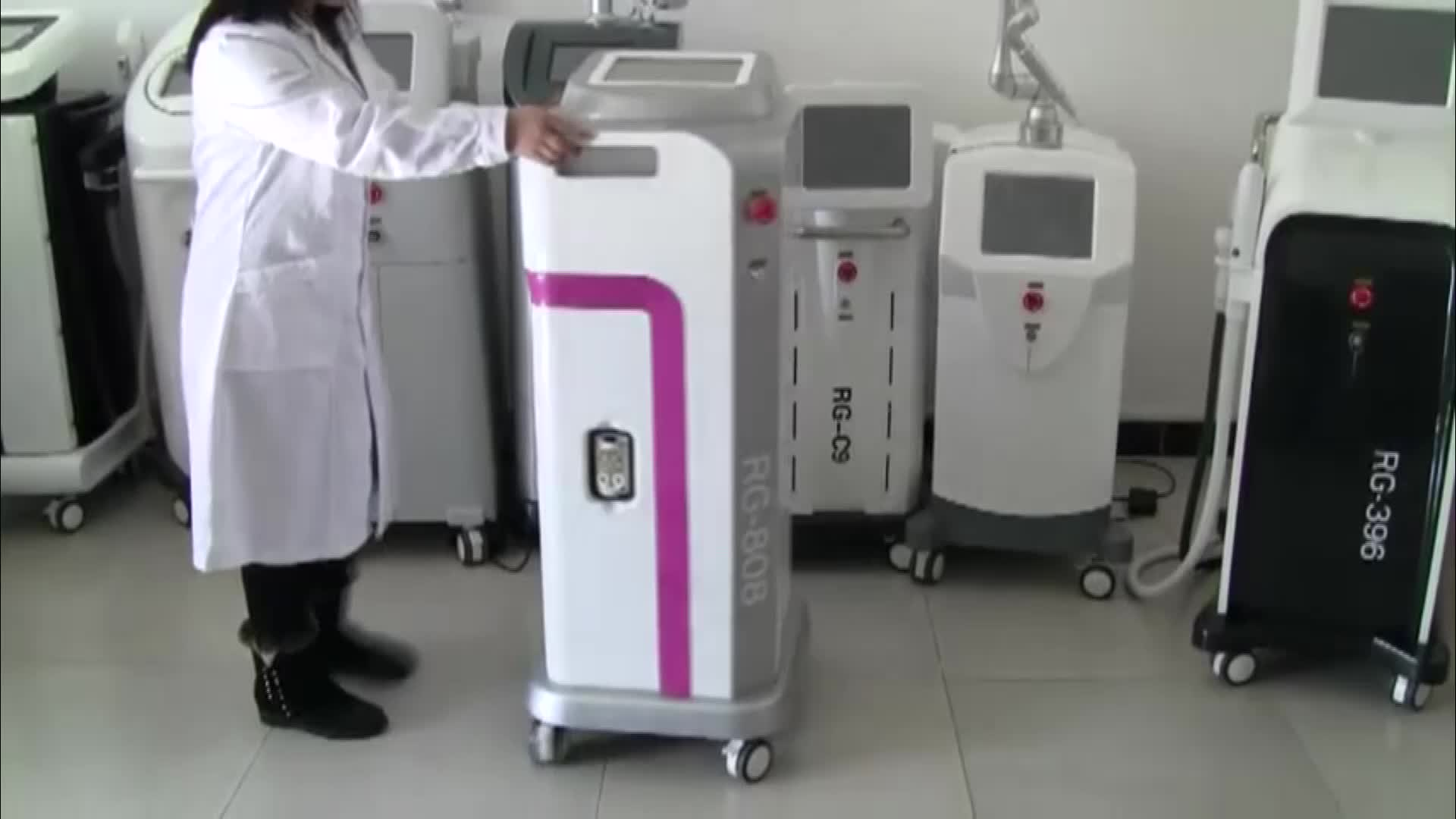 Professional 808nm diode laser hair removal permanently semiconductor laser treatment instrument