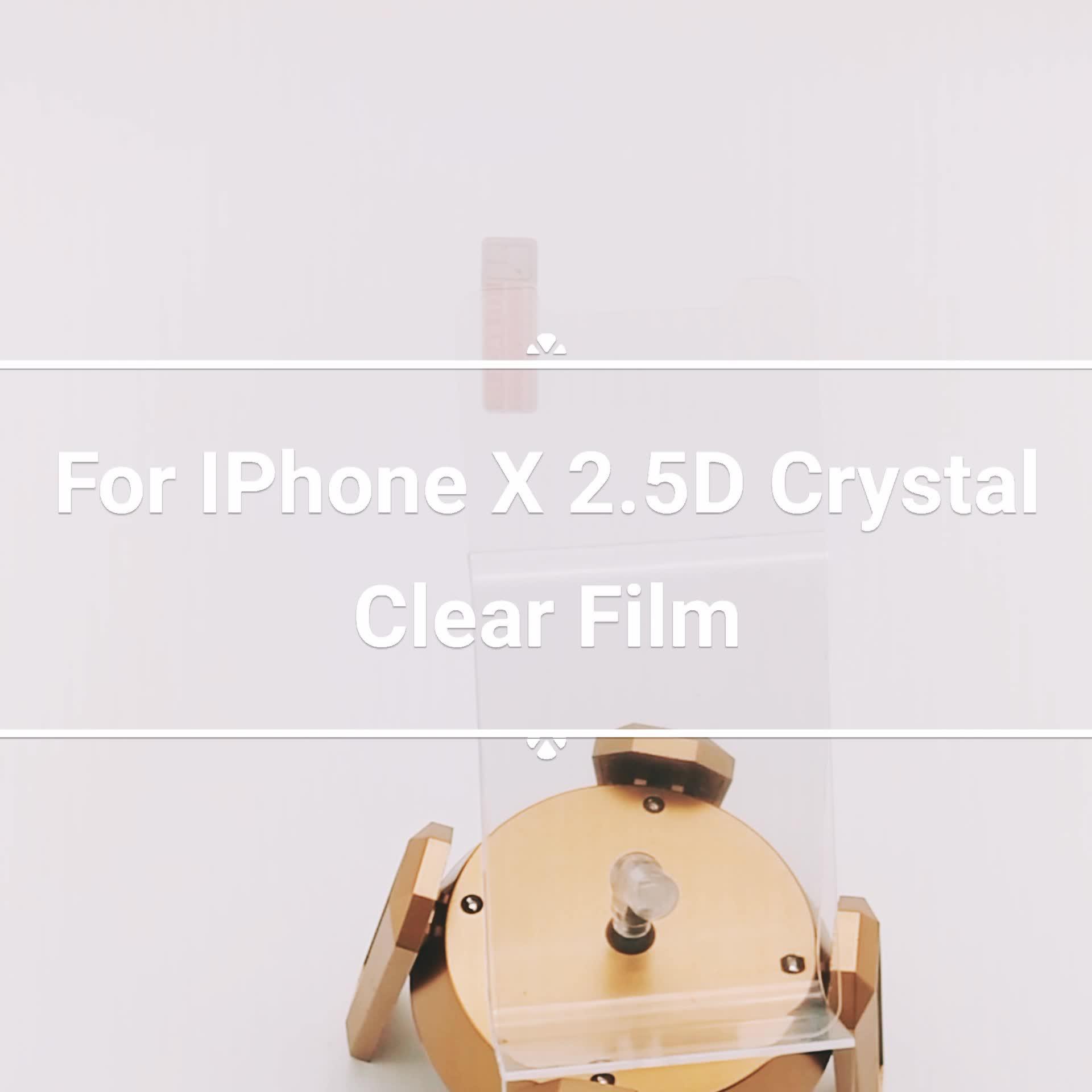2018ราคาที่ดีที่สุดใหม่ล่าสุดภาพยนตร์โทรศัพท์มือถือ9 Hช็อกหลักฐานกระจกกันรอยหน้าจอสำหรับiPhone 8